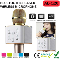 Portable Karaoke Player KTV with Wireless Bluetooth Speakers for Music Playing and singing Anytime