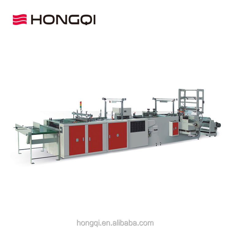 Factory outlets double side heating multi function fully automatic bag making machine
