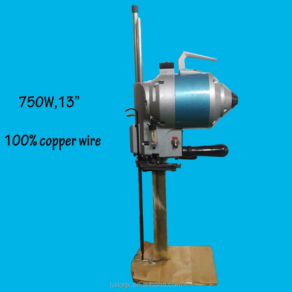 13 inch km type cloth cutting machine straight knife