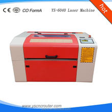 rubber stamp laser engraving machine ys6040 6040 acrylic boards engraving and cutting machine