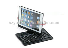 Bluetooth Keyboard Cases Station Bluetooth Keyboard For 7.9 Inch For iPad mini Retina /new ipad mini with IOS Commands