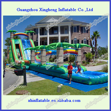 2014 New design residential inflatable water slides for kids and adults