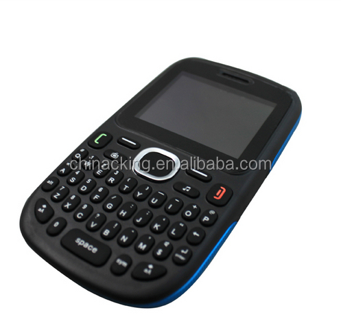 2014 dual sim quad band unlocked GSM large qwerty keyboard cell phones