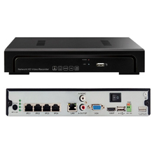 H.264 POE 5MP CCTV NVR 4ch Onvif Network Mobile Recorder in Stock