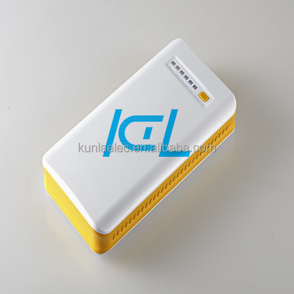 led indicator stable function travel 3g wifi power bank 6600mAh