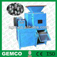 Charcoal mineral coal powder briquette making machine