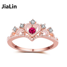 Fashion alloy diamond ring king and queen engagement rings jewelry
