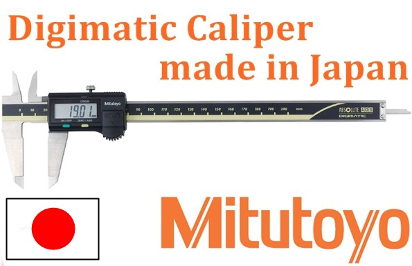Mitutoyo Measuring Diameter Instrument: Japanese High Precision Electronic Digital Caliper