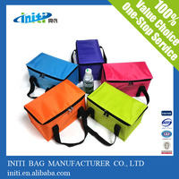 Customized Cheap insulated lunch cooler bag /zippered cooler bag