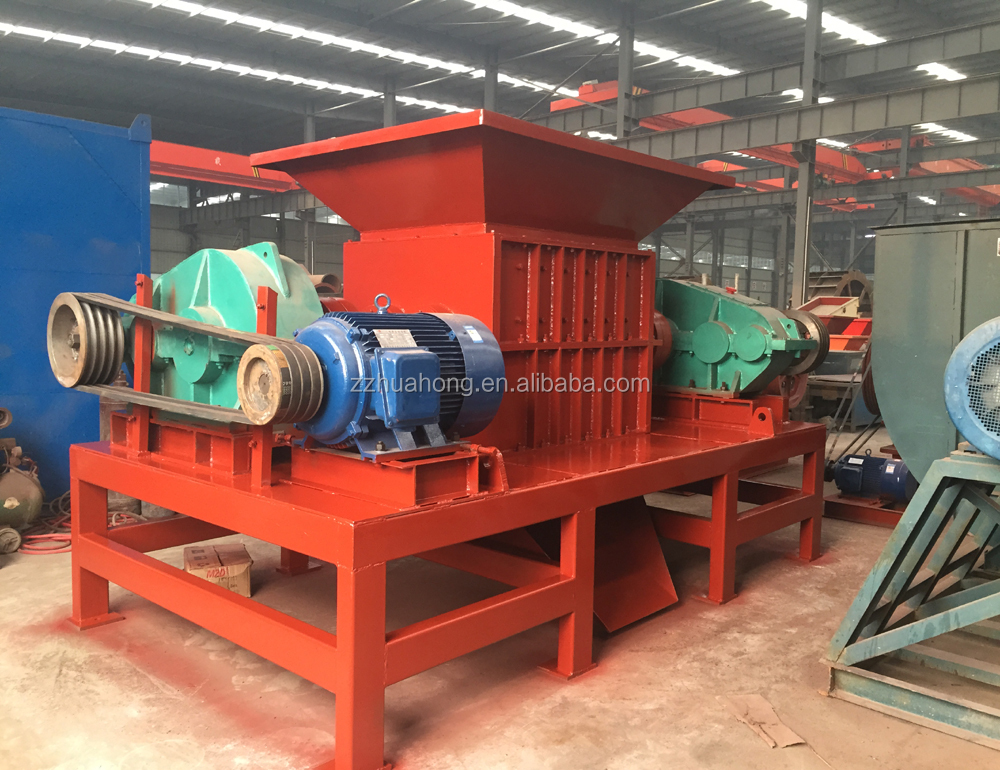 Gas cylinder shredder machine,Plastic bottles shredding machine,old template crusher