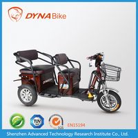 Trendy designed electric three wheel bike electric tricycle for passenger