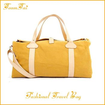 Fashional canvas travel bag