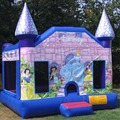 Princess inflatable castle/purple inflatable jumping castle for sale