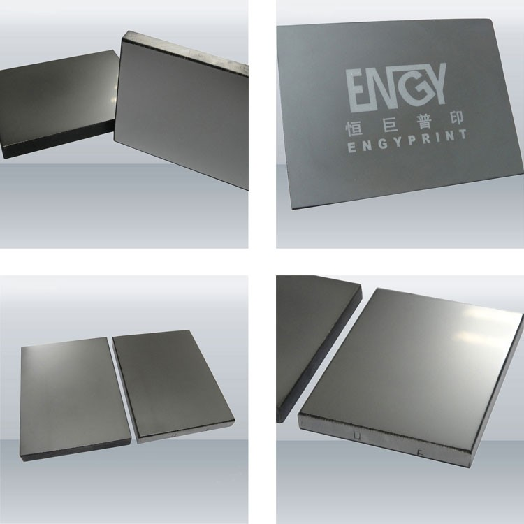 Thick Stainless Steel Sheel Cliche Pad Printing plate for KENT Machine