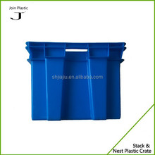 High temperature nest stack plastic containers