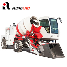 China Supply Small 1.2 Cubic Meters Self Loading Concrete Mixer Truck