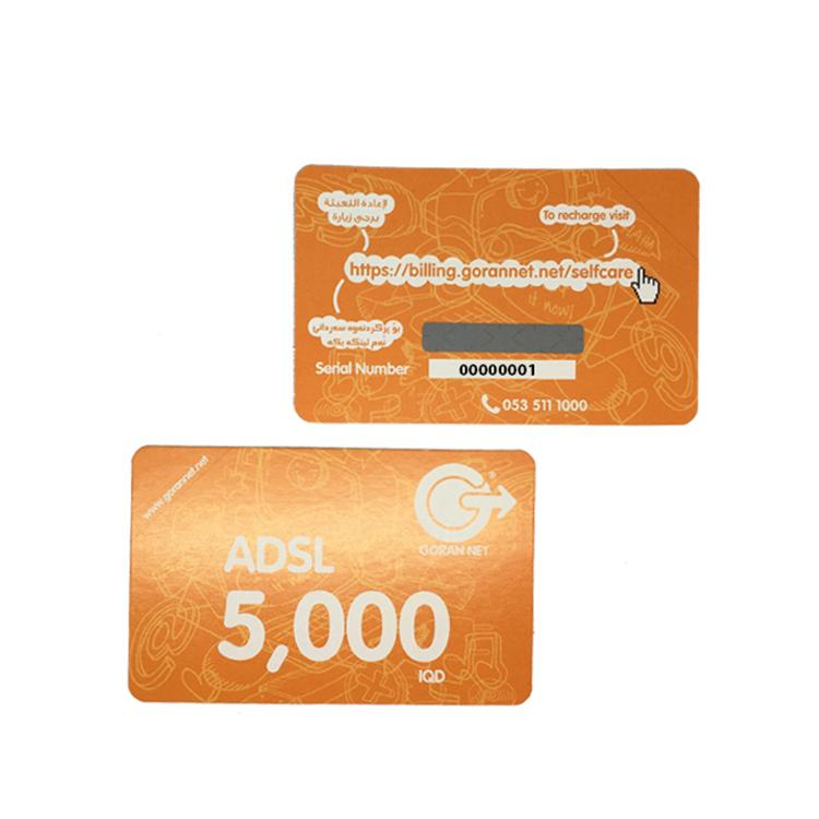 telenor scratch card serial number