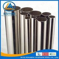 Seamless 304 304l Stainless Steel Pipe / Tube Price