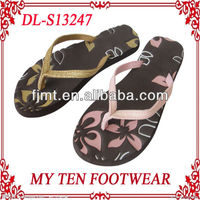 Heat Embossed New Pretty Slippers For Women 2013