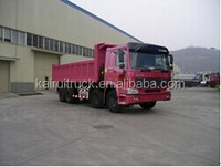 Sinotruck Dump Truck Howo Tipper red color for sale