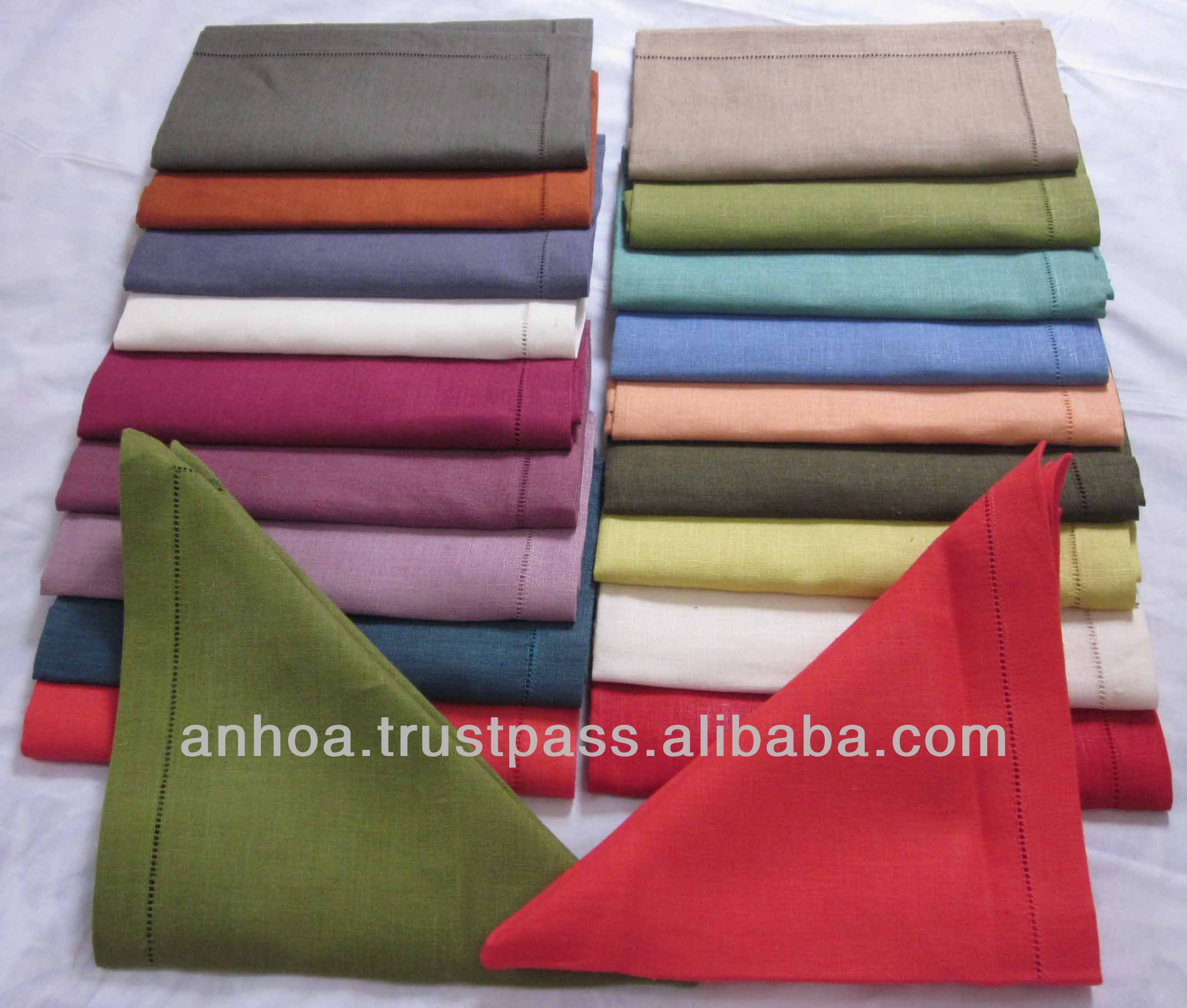 Best seller linen napkin, many colors dinner napkin