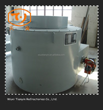 [TY]Gas Fired Melting Furnace For Iron,Steel,Copper,Metal Scrap