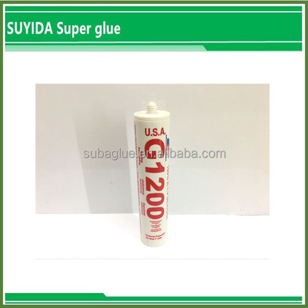 Clear sealant silicone,gp silicone sealant for glass and metal