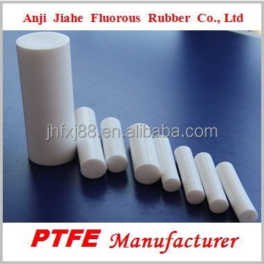 High quality pure white PTFE bar teflon rods made in China
