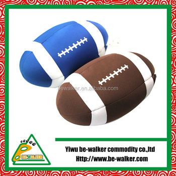 Factory Microbeads Stuffed Ball Polystyrene Beads Pillows Football Toys