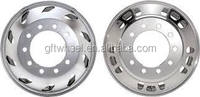 custom semi truck wheels