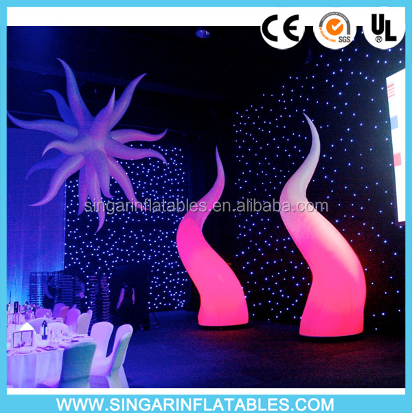 inflatable lighted decorative cones,outdoor holiday inflatables decors