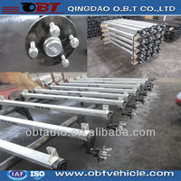 small light trailer truck part rubber torsion axle