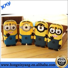 3D Silicone Despicable Me 2 Minion Phone Case for samsung galaxy s4