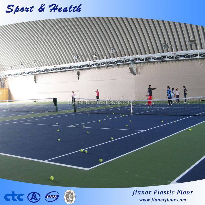 Tenis Indoor PVC Vinyl Sports Flooring