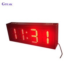 custom digital number led display board outdoor
