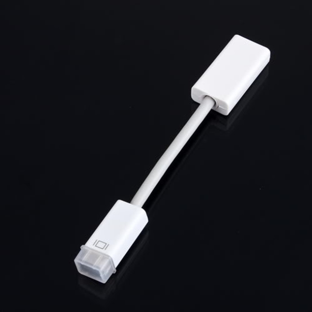 15 cm Mini DVI MiniDVI Male to Female Cable HD 1080p Adapter Cable For Apple Macbook PC Monitor Projector LCD TV Wholesale