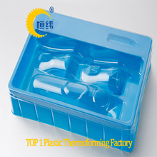 PP thermoformed clamshell medical blister packaging