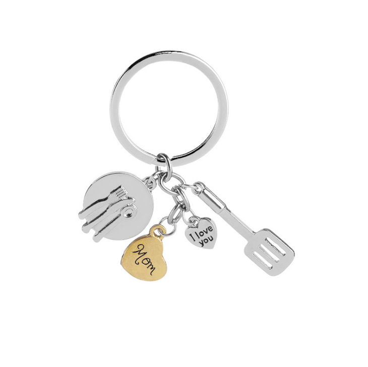 Father's Day gift mini tools model I LOVE YOU keychain