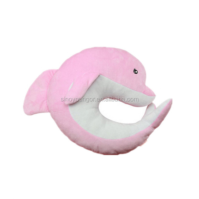 High quality animal neck pillow/ plush pillow