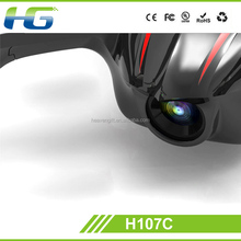 Hottest 2.4G 4 Channel Remote Control Hubsan H107C RC Helicopter with HD camera for aerial photography