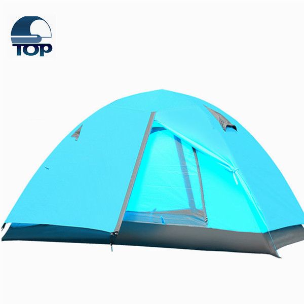 Two Rooms One Hall Outdoor Tent, 4-6 Person Camping Tent for the 2016 big promotion