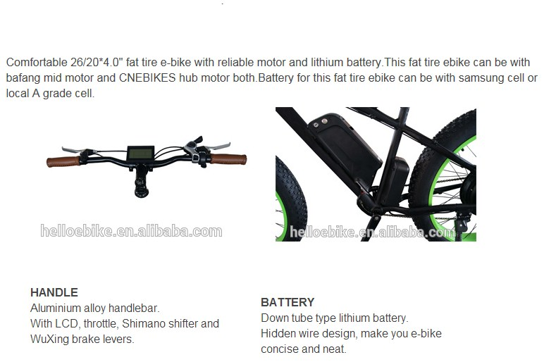 good quality 750w mid motor electric mountain bike/bicycle for sale