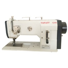 TOPAFF 1245-6/01-900/56 CLPMN single needle flat bed walking foot heavy duty leather industrial sewing machine for sofa