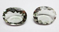 Natural Green Amethyst Oval Cut Manufacturing