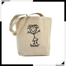 100% QC Eco-friendly organic diy cotton bag