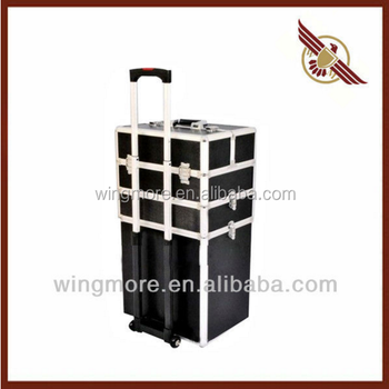 Travel Suitcase Metal Case Luggage Draw-bar Box WM-ACN052