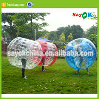 Giant PVC human inflatable belly bumper balls for adults