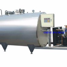 stainless steel vertical and horizontal milk cooling tank price