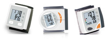 Wrist type digital blood pressure monitoring machine