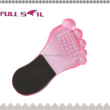 Sandpaper foot smoother with foot shape,foot smoother,pedicure foot file
